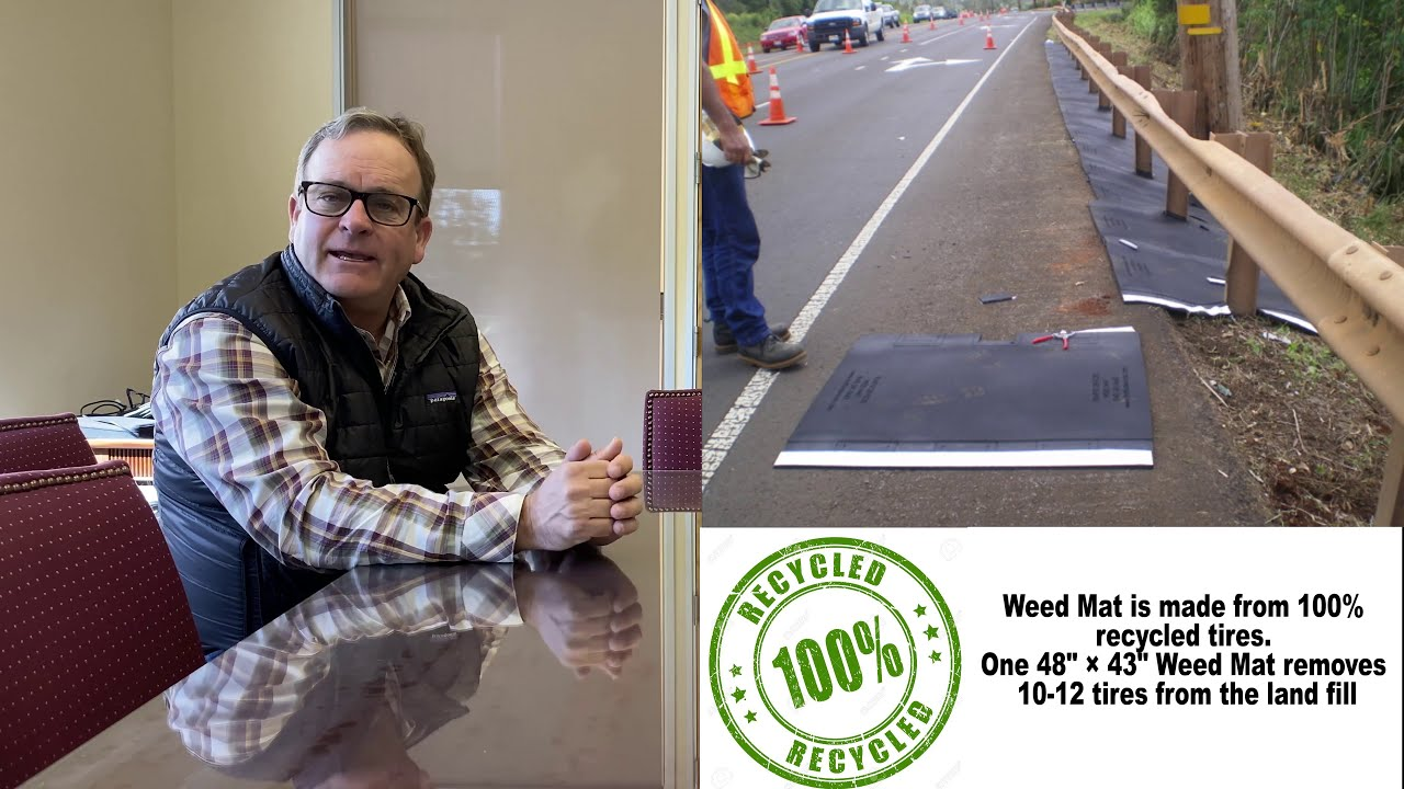 Weed Mats with Main Street Materials — TrafFix Stories