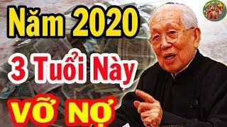 3 CON GIÁP ĐẠI HẠN, VỠ NỢ NĂM 2020 TÁN GIA BẠI SẢN Nếu Không Biết Điều Này