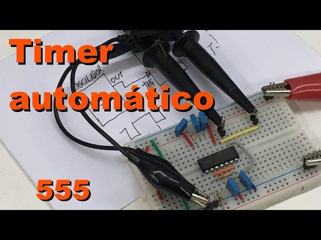 TIMER ACIONADO AUTOMATICAMENTE | Conheça Eletrônica! #083