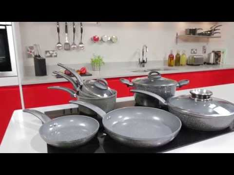 Cerastone Forged 3 Piece Saucepans Graphite