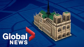 Virtual tour of Notre Dame's storied architecture