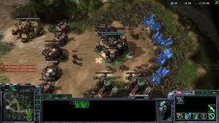 StarCraft II: (TvZ) Almost base trade (online)