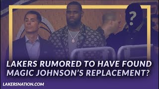 Lakers Newsfeed: Lakers Rumored To Have Found Magic Johnson's Replacement?