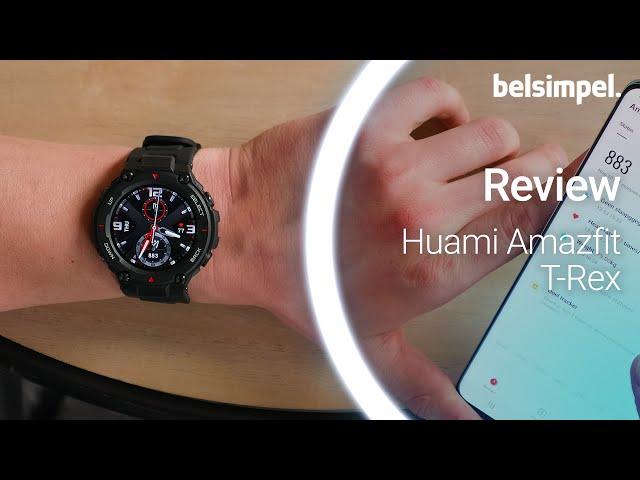 Belsimpel-productvideo voor de Huami Amazfit T-Rex Black