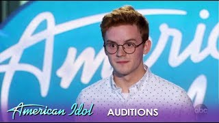 Walker Burroughs: Young Student SLAYS Lionel Richie Classic!   American Idol 2019