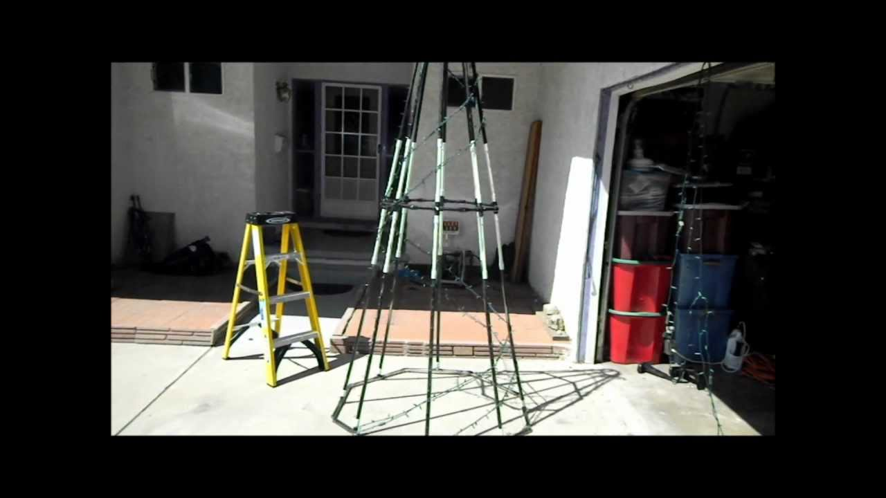 How To Make A Pvc Spiral Tree Update Youtube