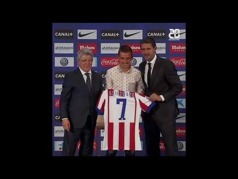 Antoine Griezmann quitte l'Atlético Madrid