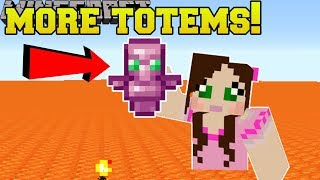 Minecraft: MORE TOTEMS!! (ORE DETECTOR, TOOL REPAIR, & MORE!) Mod Showcase