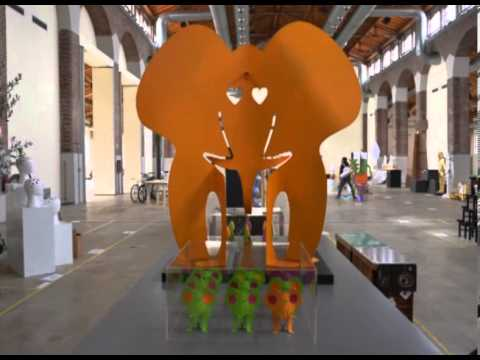 Elephant Planet by Anna Gili @ Triennale - Salone del Mobile 2013, Milano