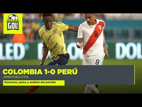 Colombia 1-0 Perú: resumen, gol y polémicas del amistoso internacional