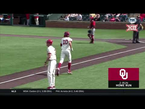 Texas Tech at Oklahoma Baseball Highlights - Game 2
