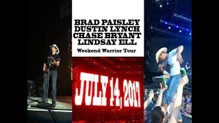 Brad Paisley LIVE IN CONCERT (Weekend Warrior Tour) - Q&A and Backstage