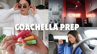 PREP/PACK WITH ME FOR COACHELLA 2019