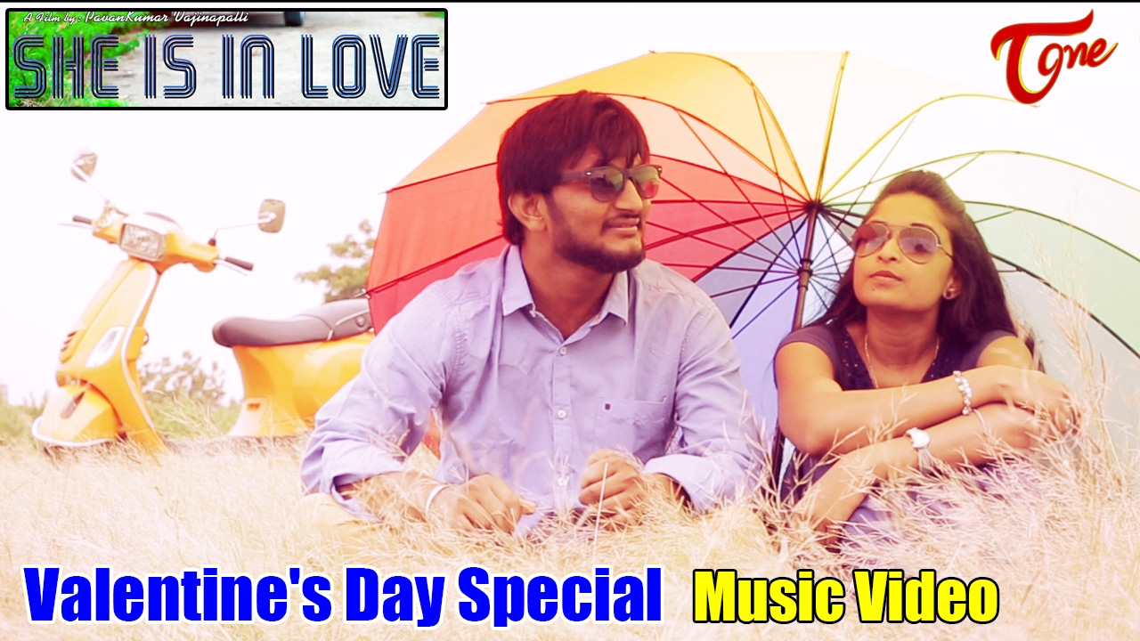 She Is In Love || Valentine's Day Special || By Pavan Kumar Vajinepalli