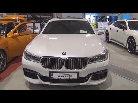 BMW 750Li xDrive (2016) Exterior and Interior in 3D