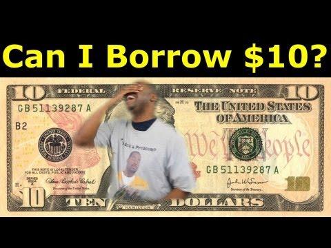 Can I Borrow 10 Dollars ? ★DSVD★ David Spates video diary # 41