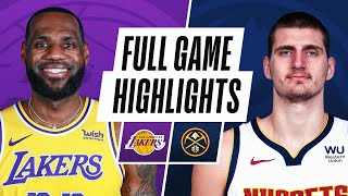 LAKERS at NUGGETS | FULL GAME HIGHLIGHTS | February 14, 2021