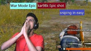 kar98K epic shot by pk gamer #PUBGMOBILE #PKGAMER