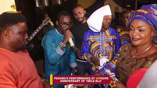 Pasuma Entertains fans with classical music at 'Isele nla' 20th anniversary at Ago-Iwoye
