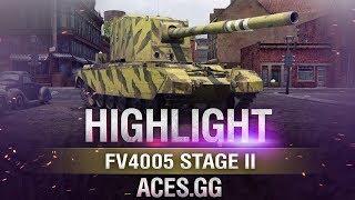 Пустынная бабаха! FV4005 Stage II