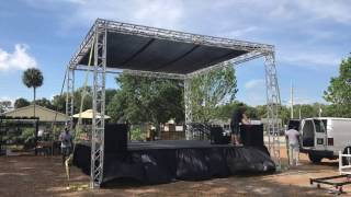 ProX Truss Tower Stage Roofing System Package XTP-GSBPACK3