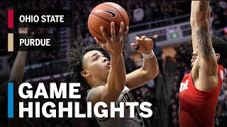 Highlights: Purdue Takes First Place in B1G | Ohio State vs. Purdue | March 2, 2019