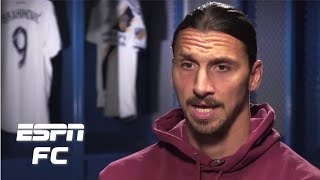 Zlatan Ibrahimovic on what he'd change about MLS, and why he's better than Carlos Vela | ESPN FC
