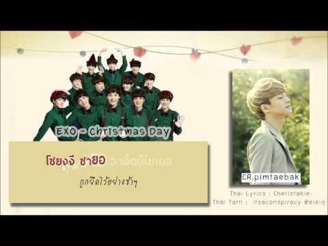 [Karaoke-Thaisub] EXO - Christmas Day (Korean Version)
