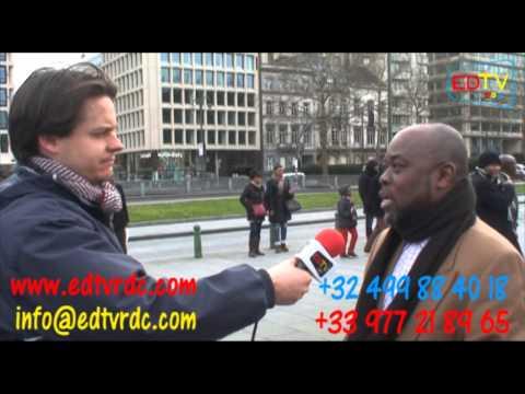 MANIF DU 15 FÉVRIER 2014 PLACE TRÔNE BRUXELLES