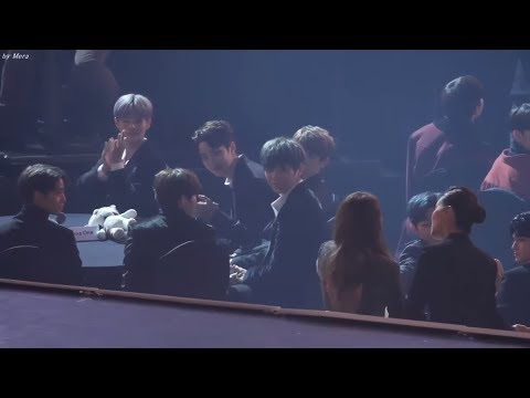 Ailee & Wanna one moments at AAA 2017