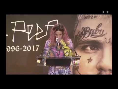 Emmalitarosa's Speech To Lil Peep | Lil Peep's Memorial