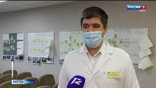 В больницы Омска в срочном порядке в помощь врачам направлены ординаторы из медакадемии