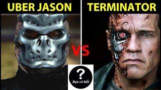 Jason X vs Kẻ Hủy Diệt T-800 (Terminator), Ai sẽ thắng #64 || Bạn Có Biết?