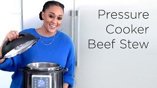 Tia Mowry's Easy Pressure Cooker Beef Stew | Quick Fix