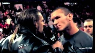 Randy Orton Destroys The Evolution - Part 1/2