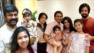 Chiranjeevi daughter Sreeja family photos; Sreeja Kalyan f..