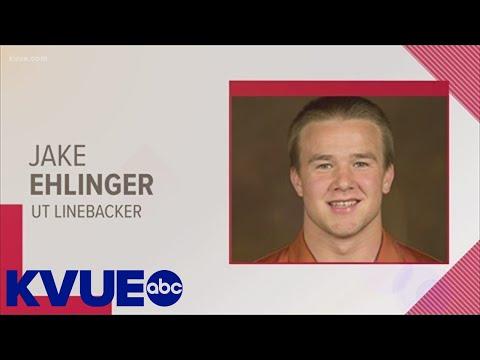 UT Linebacker Jake Ehlinger found dead   KVUE