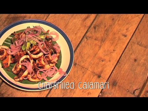 The Bombay Canteen's Chargrilled Calamari