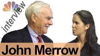 JOHN MERROW -- Interview a Broadcaster!  -- American English Pronunciation