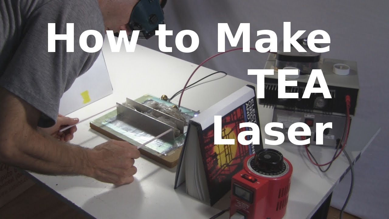 How To Make Tea Laser Homemade Diy Laser Youtube