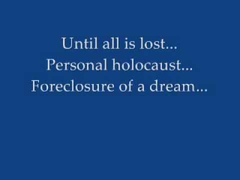 Megadeth   Foreclosure Of A Dream With Lyrics