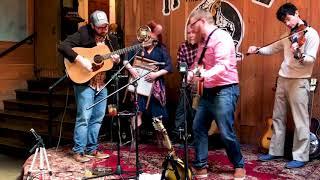 "River Bones Band -- ""Satan, Your Kingdom Must Come Down"" -- Heritage Bluegrass Brunch -- 3/18/2018"