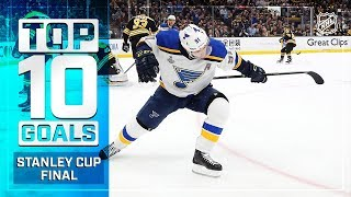 Top 10 Goals of the 2019 Stanley Cup Final