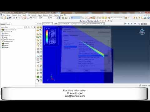 crack growth abaqus tutorial video