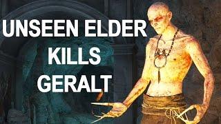 The Witcher 3 Blood and Wine - Unseen Elder Kills Geralt -