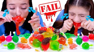 ASMR Tiktok Jelly Fruit Challenge with Most Popular Sour Candy by LiLiBu