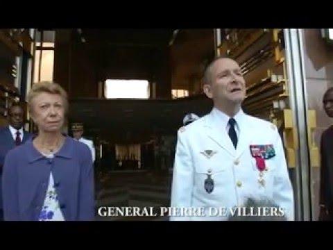 Le Général Pierre De Villiers reçu par S.E. Paul BIYA le 6 janvier 2016