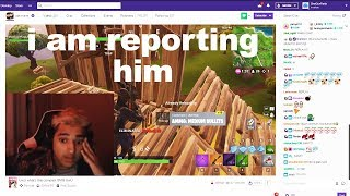I killed this Twitch Streamer in a BUILD FIGHT, then he QUIT Fortnite...