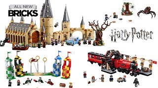 Lego Harry Potter Compilation of All Sets