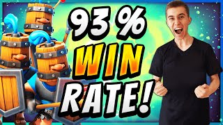93% WIN RATE! STRONGEST ROYAL RECRUITS DECK! — Clash Royale